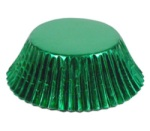 Standard Baking Cups - Foil - Green