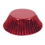 Standard Baking Cups - Foil - Red