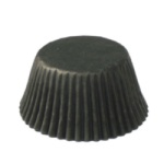 Standard Baking Cups - Solid - Black THUMBNAIL