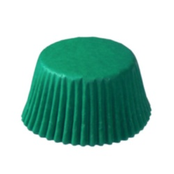 Standard Baking Cups - Solid - Green LARGE