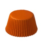 Standard Baking Cups - Solid - Orange THUMBNAIL