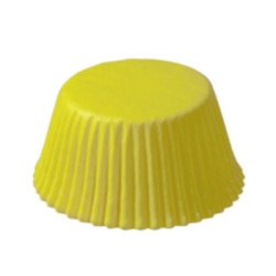 Standard Baking Cups - Solid -Yellow