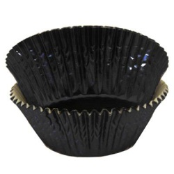 Standard Baking Cups - Foil - Black