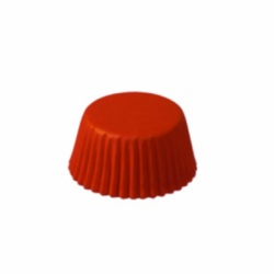 Mini Baking Cups - Solid - Red LARGE