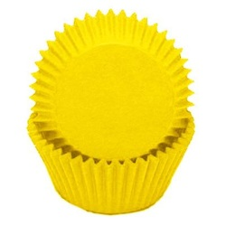 Mini Baking Cups - Solid -Yellow
