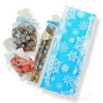 Clear Bags - 1/4 lb. Snowflakes