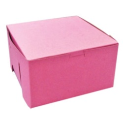 Bakery Box - Pink - 7""