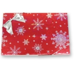 Candy Box - 1 lb. Red Snowflake