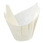 Tulip Baking Cups - White