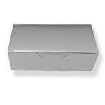 Candy Box - 1/2 lb. One Piece - Silver