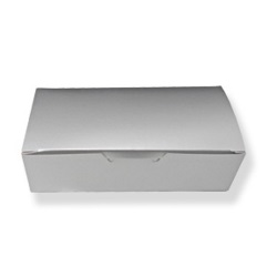 Silver Candy Box - 1 lb. LARGE