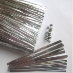 Twist Ties - Silver Metallic THUMBNAIL