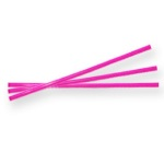 Twist Ties - Hot Pink