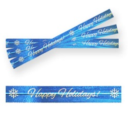 Twist Ties - Happy Hollidays LARGE
