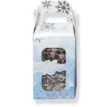 Candy Box - 1 lb. Let It Snow Gable Box w/Window