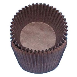 Standard Baking Cups - Solid - Brown LARGE