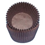 Standard Baking Cups - Solid - Brown THUMBNAIL