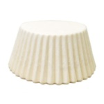 Jumbo Baking Cups - White