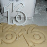 Number 16 Cookie Cutter THUMBNAIL