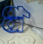 Number 18 Cookie Cutter THUMBNAIL