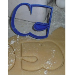 Number 50 Cookie Cutter LARGE