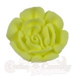 Small Royal Icing Roses - Yellow