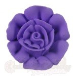 Medium Royal Icing Roses - Lavender