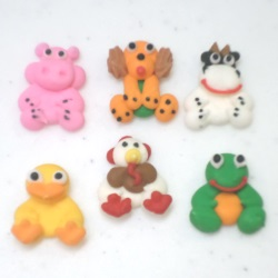 Mini Farm Animals Royal Icing Assortment LARGE