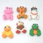 Mini Farm Animals Royal Icing Assortment THUMBNAIL