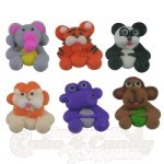 Royal Icing Assortment - Mini Jungle Animals THUMBNAIL