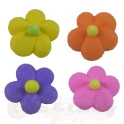 Royal Icing Medium Flower Power Assortment LARGE