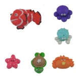 Royal Icing Assortment - Mini Sea Creatures THUMBNAIL