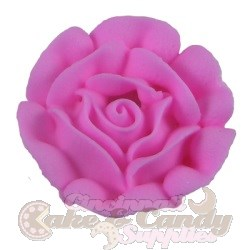 Medium Royal Icing Roses - Pink