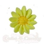 Royal Icing Daisies - Yellow
