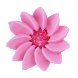 Royal Icing Daisies - Pink LARGE