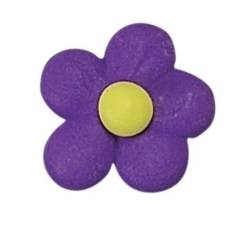 Royal Icing Flower Power - Purple LARGE