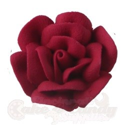 Large Royal Icing Roses - Red LARGE