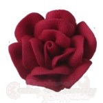 Large Royal Icing Roses - Red