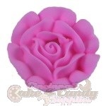 Large Royal Icing Roses - Pink