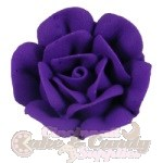 Large Royal Icing Roses - Purple