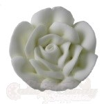 Small Royal Icing Roses - White