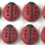 Royal Icing Lady Bugs THUMBNAIL