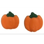 Royal Icing Flat Pumpkins