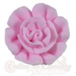Medium Royal Icing Roses - Light Pink