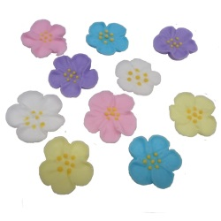 Mini Royal Icing Wild Rose - Assorted LARGE