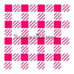 Cookie Countess Stencil - Mini Buffalo Plaid