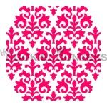 Cookie Countess Stencil - Damask