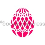Cookie Countess Stencil - Easter Egg Diamonds