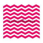 Cookie Countess Stencil - Narrow Chevron