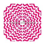Cookie Countess Stencil - Multi Circular Chevron